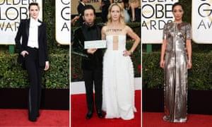 Evan Rachel Wood; Simon Helberg and Jocelyn Towne; Ruth Negga.