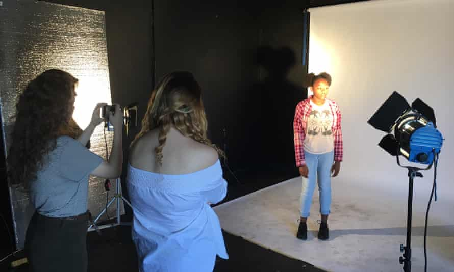 Lauren Kelly learns filming tips in the run-up to a social media camp in Los Angeles.