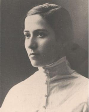 Maria Dzhagupova, pictured in the 1910s