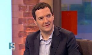 George Osborne said Zac Goldsmith fought a positive campaign.