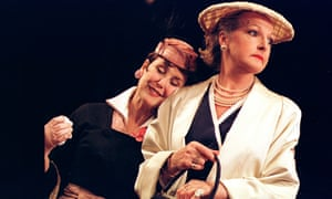 With Penelope Keith in Noël Coward's Star Quality, 2001.