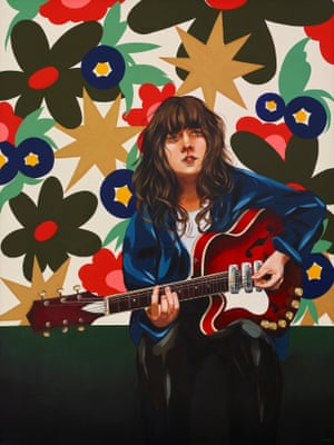 Courtney Barnett and Her Weapon of Choice by Melissa Grisancich
