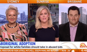The Sunrise segment, featuring Prue MacSween, Samantha Armytage and Ben Davis