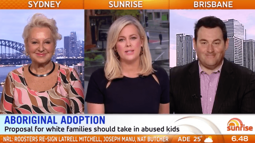 Prue Macsween, Samantha Armytage and Ben Davis on Sunrise