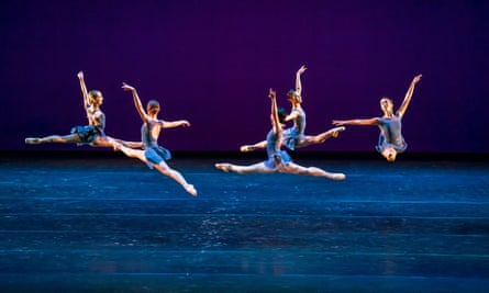 The world premiere of Valentino Zucchetti's Scherzo, part of the Royal Ballet's Within the Golden Hour mixed bill.