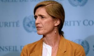 Samantha Power, US ambassador to the UN