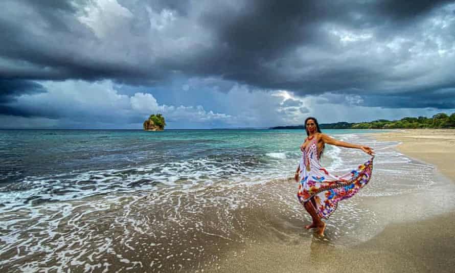 Davia Shannon in Costa Rica.