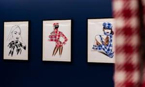 La collection Tati (the Tati collection) exhibition at the Azzedine Alaia Gallery, in Paris.