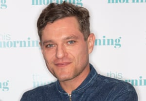 Head shot of actor Mathew Horne