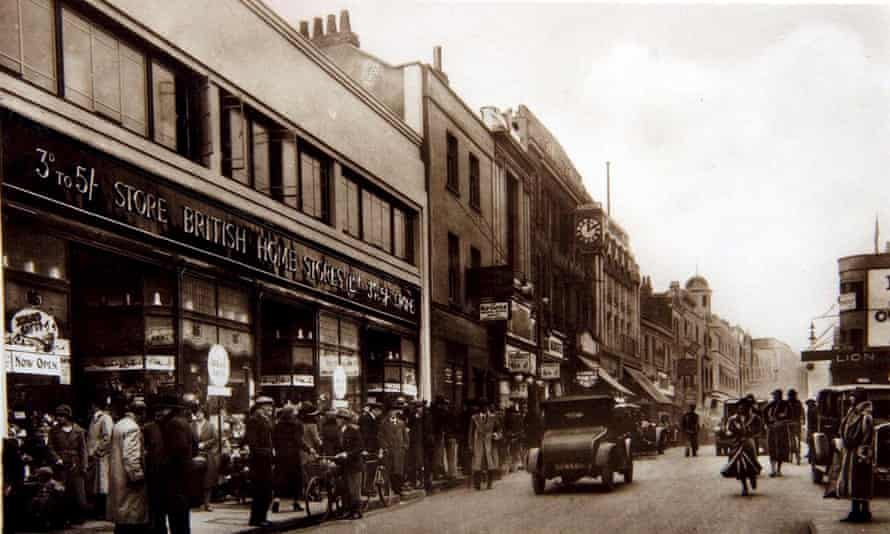 British Home Stores on Castle Street, Bristol, 1940