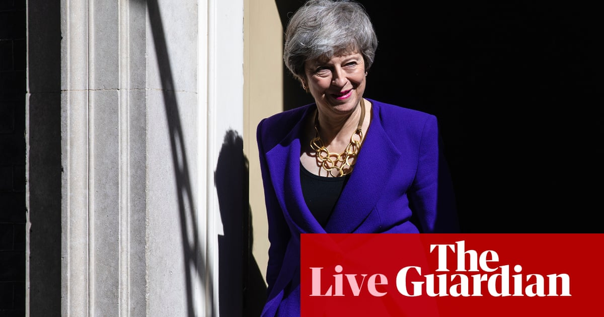 Brexit: Tory MPs abandoning May after second referendum offer – live news