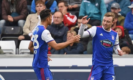 Football League roundup: Ipswich earn first win of the season at Swansea