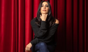 Nadine Labaki photographed at the Picture House Cinema in Central London.
