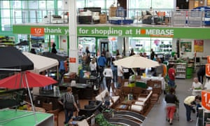 Homebase's Australian owners, Wesfarmers, saw a profitable business become a massive loss-maker.