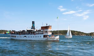 A classic Stockholm steamboat