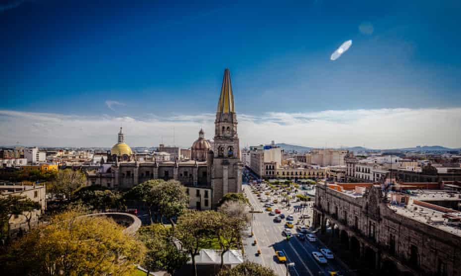Spire Guadalajara Cathedral