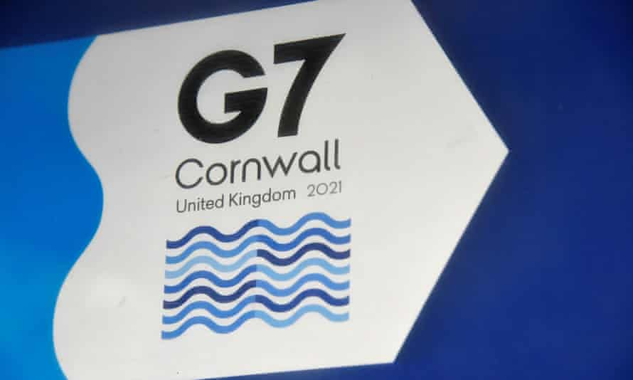 The in-person G7 summit of global leaders is due to take place in St Ives, Cornwall in the UK.