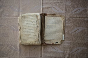This Qur'an is a family relic brought by Abdurauf's father from China