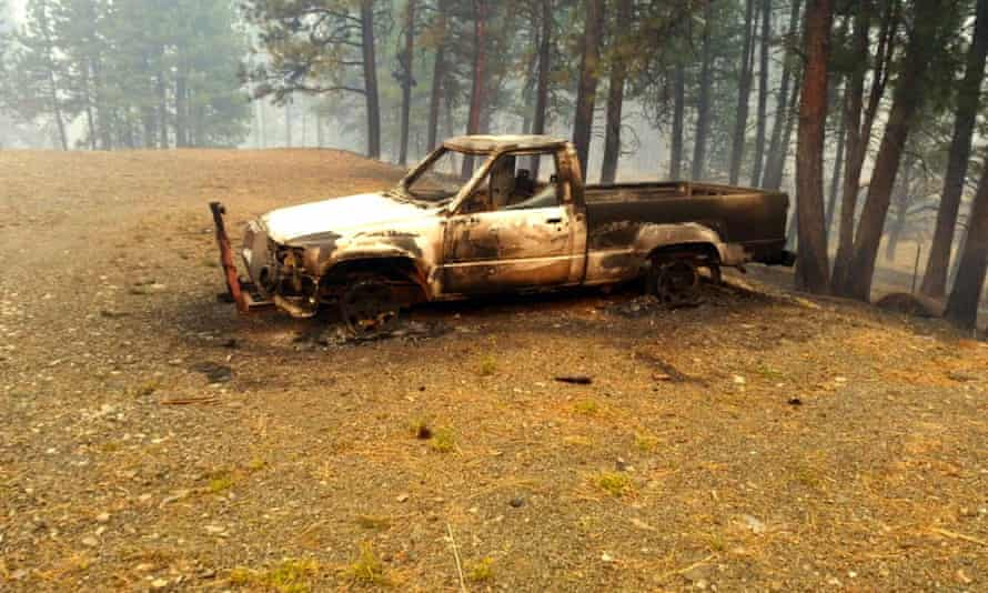 The Canyon Creek Complex fire advanced along a canyon leading to John Day, destroying homes in the process.