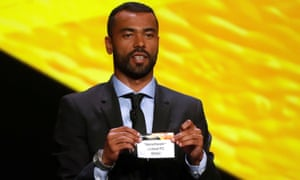 Ashley Cole was part of the ceremony in Monaco.