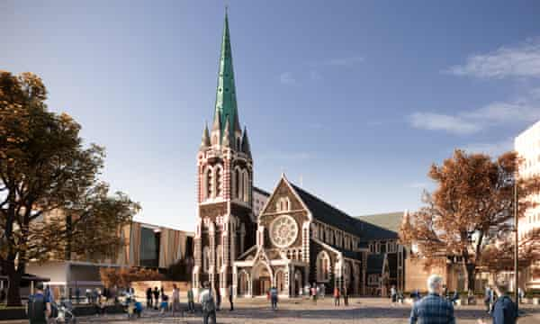 A concept design for the reinstated Christchurch cathedral