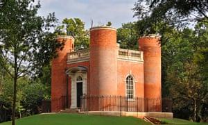 Queen Anne's Summerhouse, in Shuttleworth, Old Warden, Bedfordshire