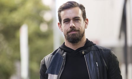 Jack Dorsey, co-founder and CEO of Square and Twitter, poses for a portrait at Black Velvet Espresso on April 11, 2016 in Melbourne, Australia.