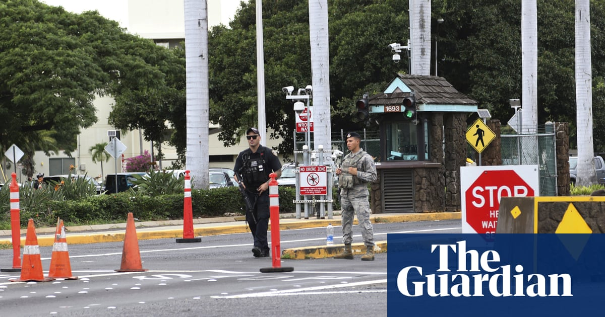 Pearl Harbor shooting: US sailor kills two civilians and injures third at military base | US news | The Guardian