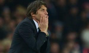 Chelsea's Antonio Conte