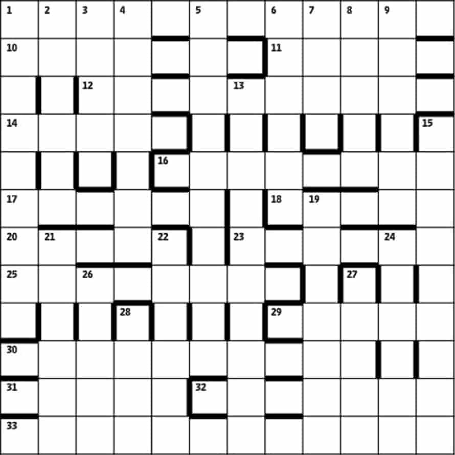Azed crossword 2,551