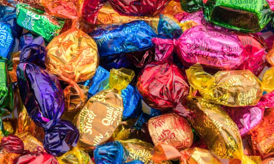 Quality Street will now use cellulose films on its chocolates.