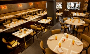 The dining room at Piquet restaurant.