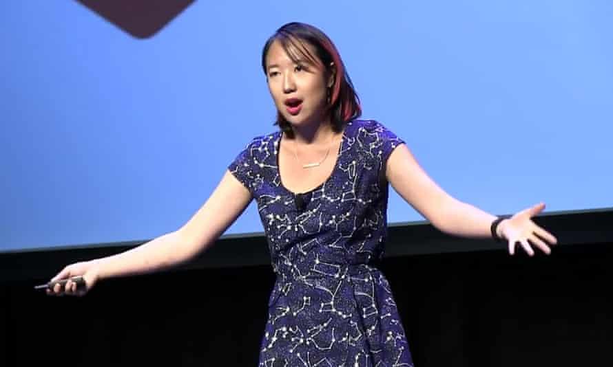 sarah jeong speaking at the xoxo festival 2016