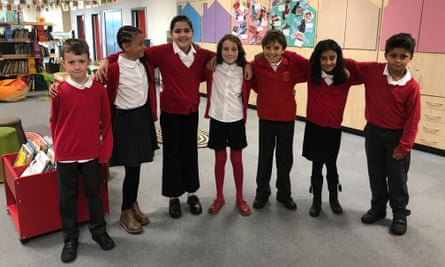 children from Cavendish Road primary school