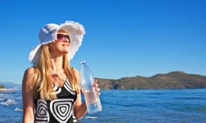 Is drinkable sunscreen the answer to a diminishing ozone layer?