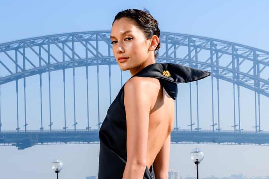 Manahou Mackay. Fashion week Sydney 2021.