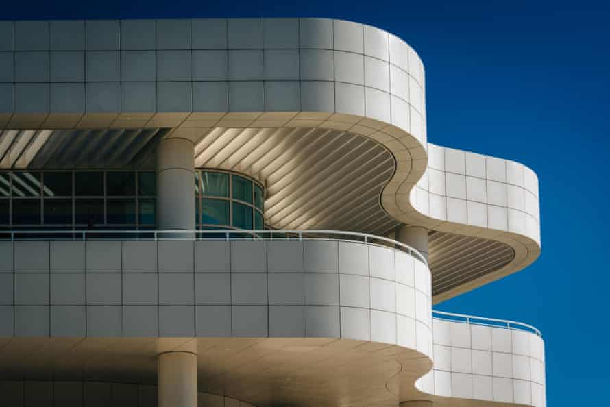 The Getty Center in Brentwood, Los Angeles.