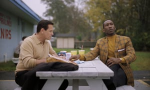 Viggo Mortensen, left, and Mahershala Ali in a scene from Green Book.