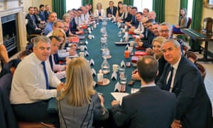 New faces in the latest cabinet photograph.