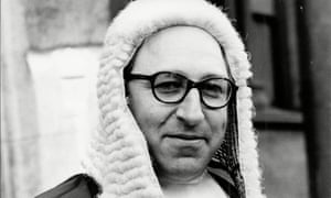 Louis Blom-Cooper in 1970. For half a century he was a courageous advocate, a controversial legal author, a deputy high court judge and a radical chairman of numerous public inquiries.