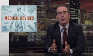 'All these years we've been waiting anxiously for the robot apocalypse and it turns out the robot apocalypse was inside us the whole time' ... John Oliver