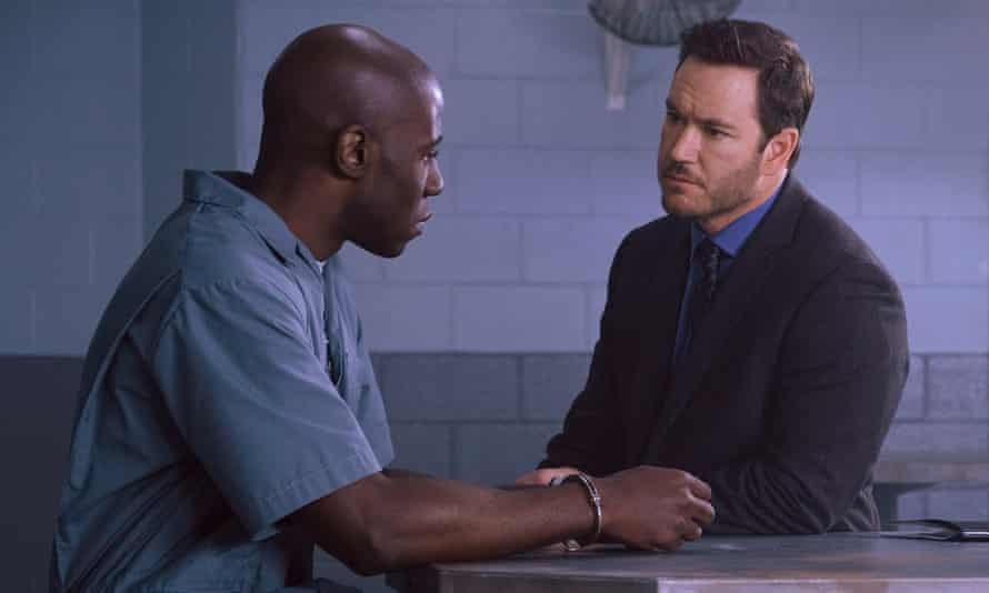 McKinley Belcher III and Mark-Paul Gosselaar in The Passage.