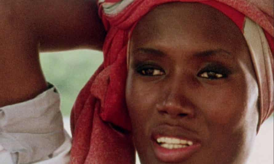 Natural … a young Grace Jones in Henzell's No Place Like Home.