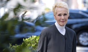 E Jean Carroll in New York on Sunday. She told CNN: 'I want women to know I did not stand there I did not freeze I was not paralysed. No, I fought.'