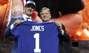 Daniel Jones was a surprising pick for the Giants at No6
