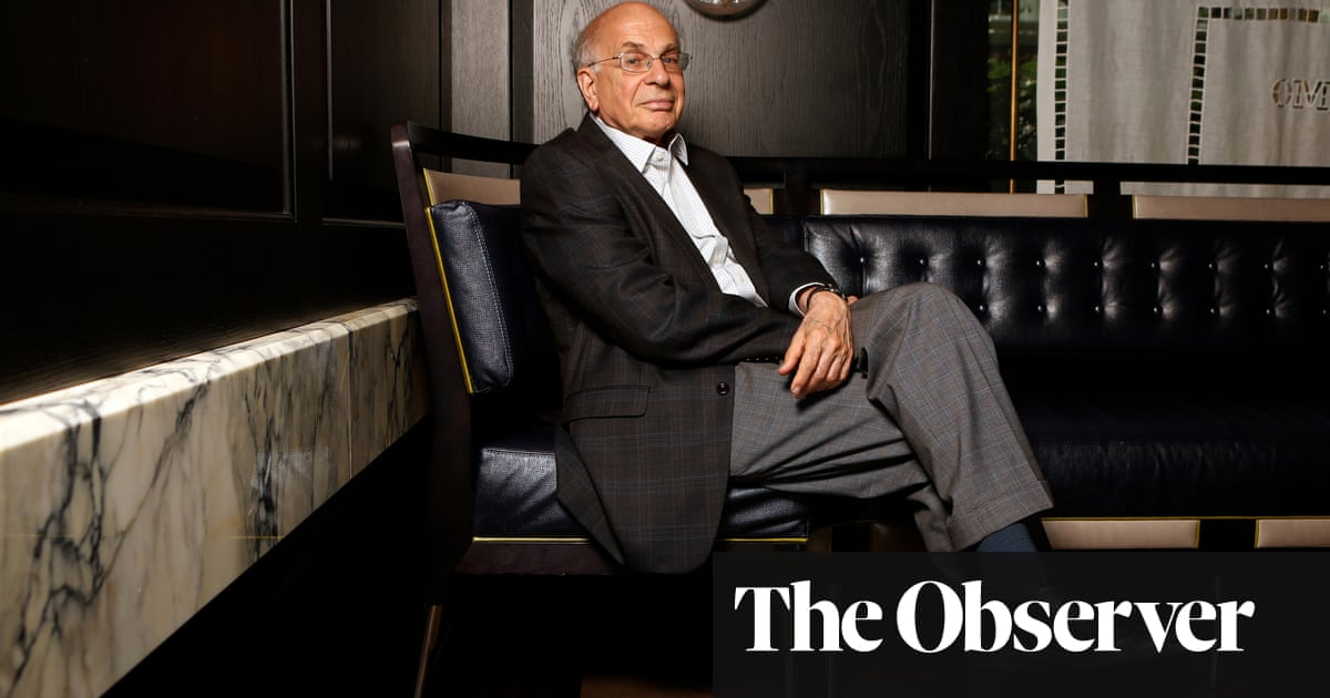 Daniel Kahneman: 'Clearly AI is going to win. How people are going to adjust is a fascinating problem'