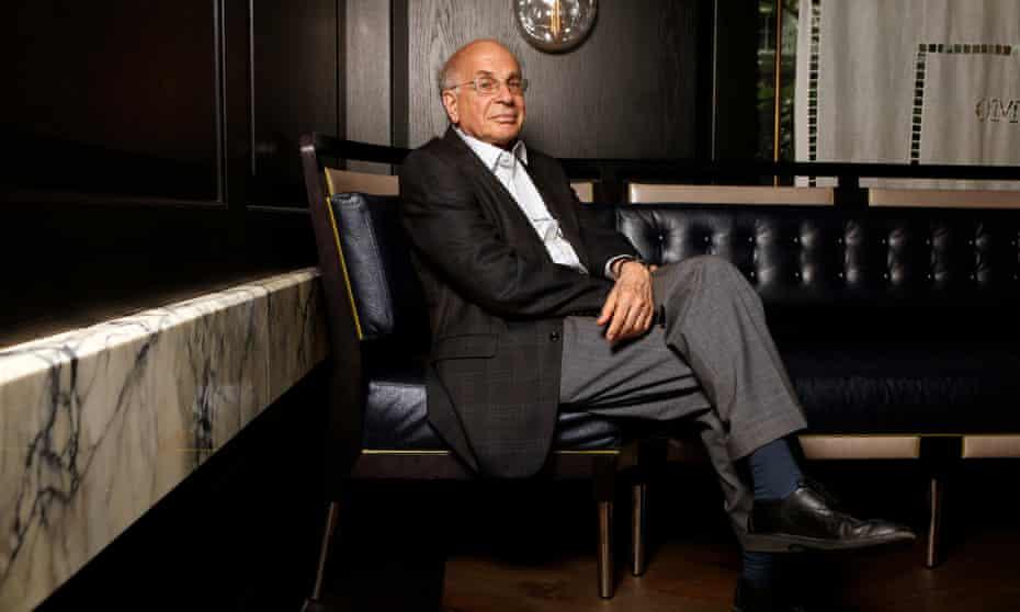 Daniel Kahneman in London in 2012