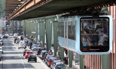 The Wuppertal suspension railway is back in service.