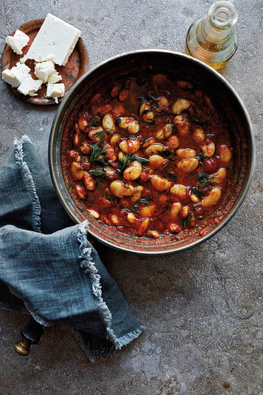 Smoky Lima Beans, from the book Ripe Figs.