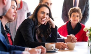 Jacinda Ardern has won praise for her handling of the coronavirus.